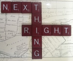 'next right thing'